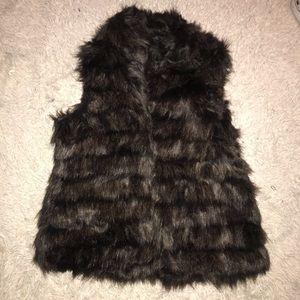 NWT MICHAEL KORS Faux Fur Vest
